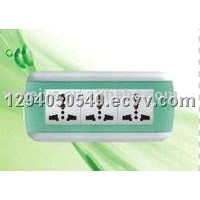 Wall Switch-3 Gang Multi Socket