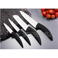 White ceramic kitchen knife (Revolution series)