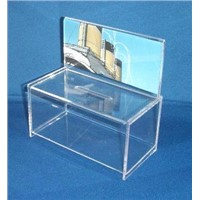 Acrylic Box with Sign