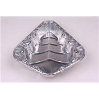 aluminium foil container for food Cake Airline- Christmas Tree LA-F164