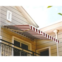 aluminum awning,window awning,waterproof fabric,retractable awning,sunshade