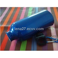 Aluminum Eco Drink Bottle with Button