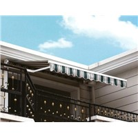 aluminum frame awning, window awning,waterproof fabric,retractable awning
