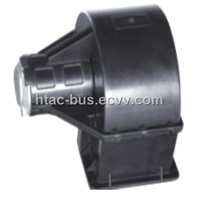 blower assembly for bus air conditioner system