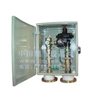 building gas regulator box