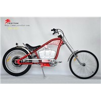 chopper electric bike  motorized bike