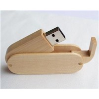 cuty wooden 2gb usb memory