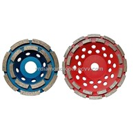 Diamond Double Row Cup Wheel for Concrete and Masonry