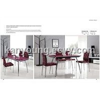Dining Table 6192, Dining Chair 4189