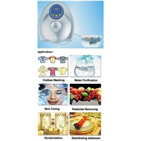 fruit and vegetable sterilizer with ozone function
