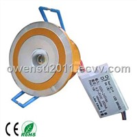 high power 1w round LED downlight