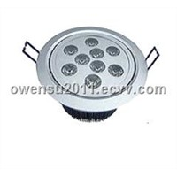 high power good 9w excellent LED downlight / ceiling light