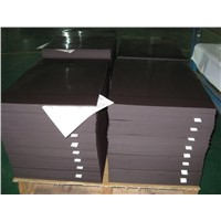 Magnetic Sheeting - Ferrous Sheet, Rubber Magnet, 0.4 0.5mm,1000mm, Anisotropic,UV Coating