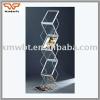 metal display shelf