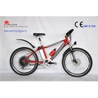 motorized  mountain electric bike
