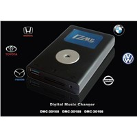 New Digital Car CD Radio Changer with Auxiliary
