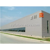 polyurethane sandwich panel for roof & wall