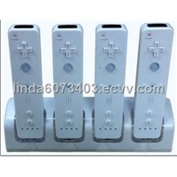 quad charger for wii remote