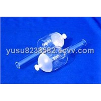 quartz pyriform separatory funnel