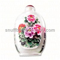 Snuffbottle Inside Flower Painting