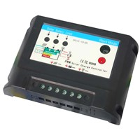 solar charge controller with led driver (for solar garden light), 10A/15A