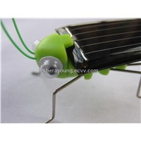 solar powered grashopper locust funny insects bug gifts for children