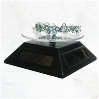 solar turntable rotating display stand show table plate rotary tray for Jewelry mp3 mp4 mobile