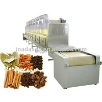 spices microwave drying sterilization equipment