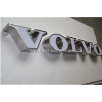 stainless steel shining auto logos