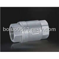 Stainless Steel Vertical Check Valve