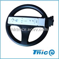 steering wheel for wii video game with motion plus