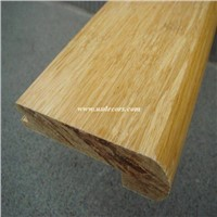 strand woven bamboo stair nose accessory
