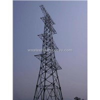 supply transmission line tower