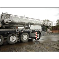 Used Lifting Machinery Used Demag Truck Crane 100t Mobile Crane Boom Crane