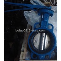 Wafer Cast Iron Butterfly Valve