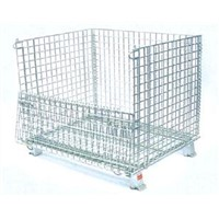 wire mesh container, wire cage, logistic/storage cage, wire storage basket