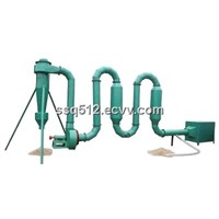 hotair flow type sawdust drying machine (popular in the market)