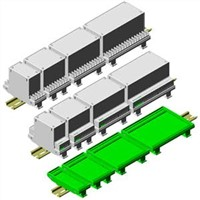 Universal DIN Rail Enclosures - PCB Holders