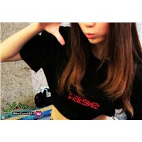 LED Message T-Shirt