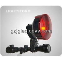 150/175mm Scope Mounted spotlight with 12V Cigar Lighter