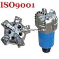 5 blades matrix body PDC drill bit