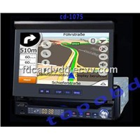 7 inch In Dash Car DVD Player with Touchscreen/GPS/Bluetooth High Quality