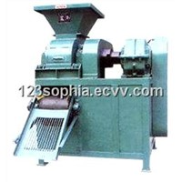 Coal and charcoal briquette press machine for ball or pillow