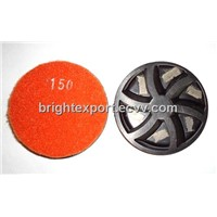 Floor Polishing Pad with segment