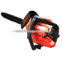 Gasoline Chain Saw - Black with Red (HY-25)