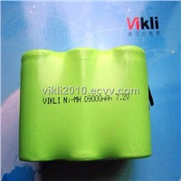 Ni-MH D 9Ah 7.2V rechargeable Battery Pack
