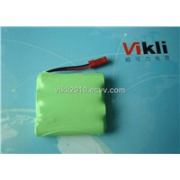 Ni-MH Rechargeable Battery Pack, AA4*1000mAh, R6
