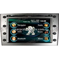 Peugeot 407 Multimedia Navi DVD Player - Bluetooth, Radio