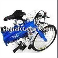 Pocket Bike - Made of 6061 Aluminum Alloy, Folding Size of 831 x 367 x 654mm