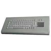 Stainless Steel Desktop Keyboard (X-PP66D)